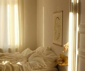 aesthetic, sun, and bedroom image
