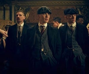 peaky blinders, tommy shelby, and arthur shelby image