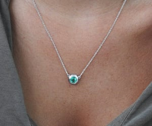etsy, pendant, and green pendant image