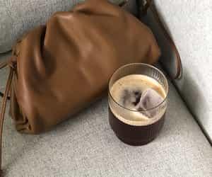 bottega veneta, coffee, and fashion image