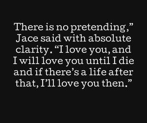 angel, couple, and jace image