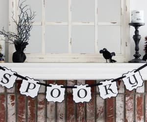 black and white, etsy, and decorations image