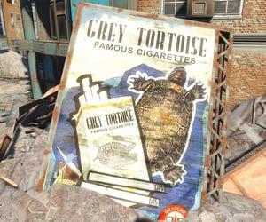 ad, fallout, and cigarettes image