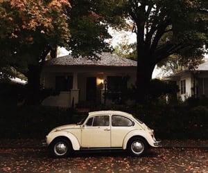 car, fall, and autumn image