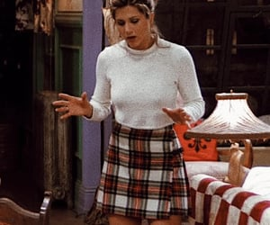 outfit, tv show, and rachel green image
