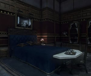 abandoned, bed, and gothic image