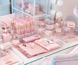 aesthetic, decor, and makeup image