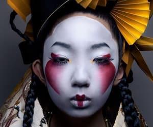 belleza, oriental, and geisha image