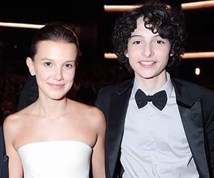 finn wolfhard, millie bobby brown, and ship image
