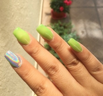 article, nails, and chicas image