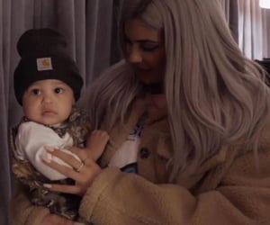 cute baby, kylie jenner, and stormi image