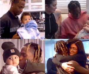 cute baby, family, and kylie jenner image