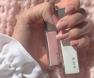 aesthetic, makeup, and nails image