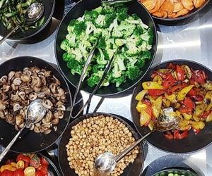 food, herbs, and organic image