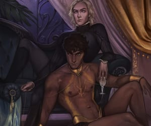 fanart, fantasy, and lovers image