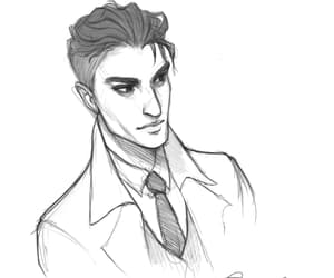 leigh bardugo, six of crows, and kaz brekker image