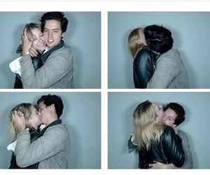 beautiful, couple, and cole sprouse image