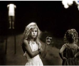 girl and smoking image
