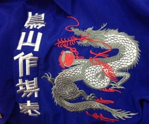 blue, dragon, and asian image