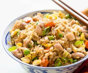 drink, food, and rice image
