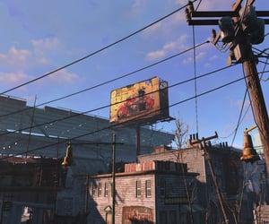 abandoned, city, and billboard image