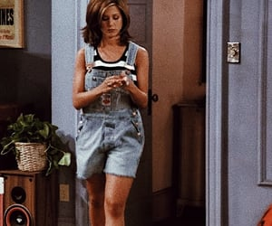 outfit, rachel green, and tv show image