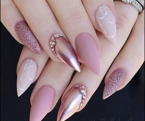 fashion, jewels, and nails image