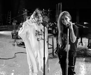 Avril Lavigne, concert, and billie ellish image