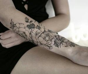 ink, tattoo, and tattos image