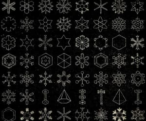 snow, snowflakes, and snow crystals image