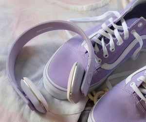 bambi, lavender, and vans image