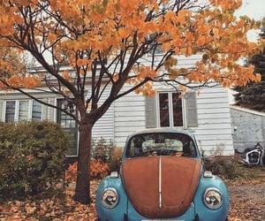 car, autumn, and fall image