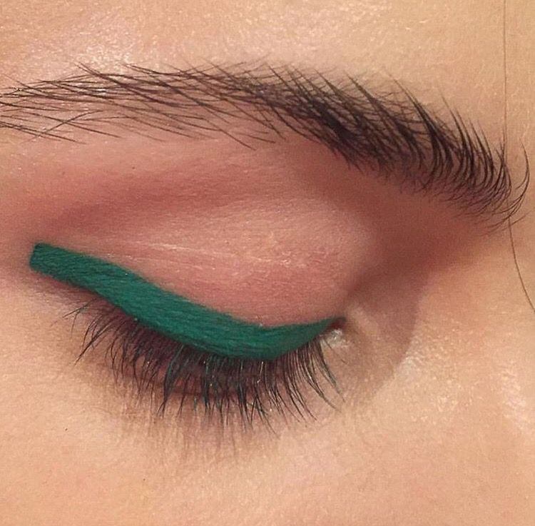 makeup, style, and eyes image