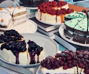 amazing, cheese cake, and foods image