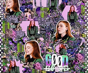 edit, purple, and sadie sink image