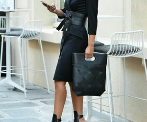 black, business, and chic image