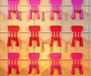 chairs, colors, and seats image