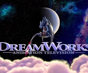 dreamworks, Logo, and toothless image