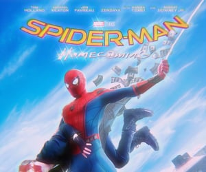 homecoming, Marvel, and spiderman image