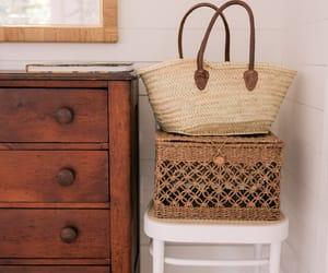 baskets, interior, and decor image