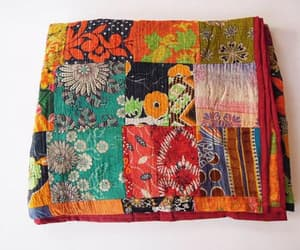 etsy, handmade blanket, and reversible quilt image