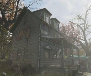 abandoned, sunlight, and autumn image