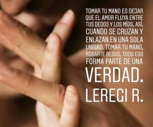 amor, frase, and Besos image