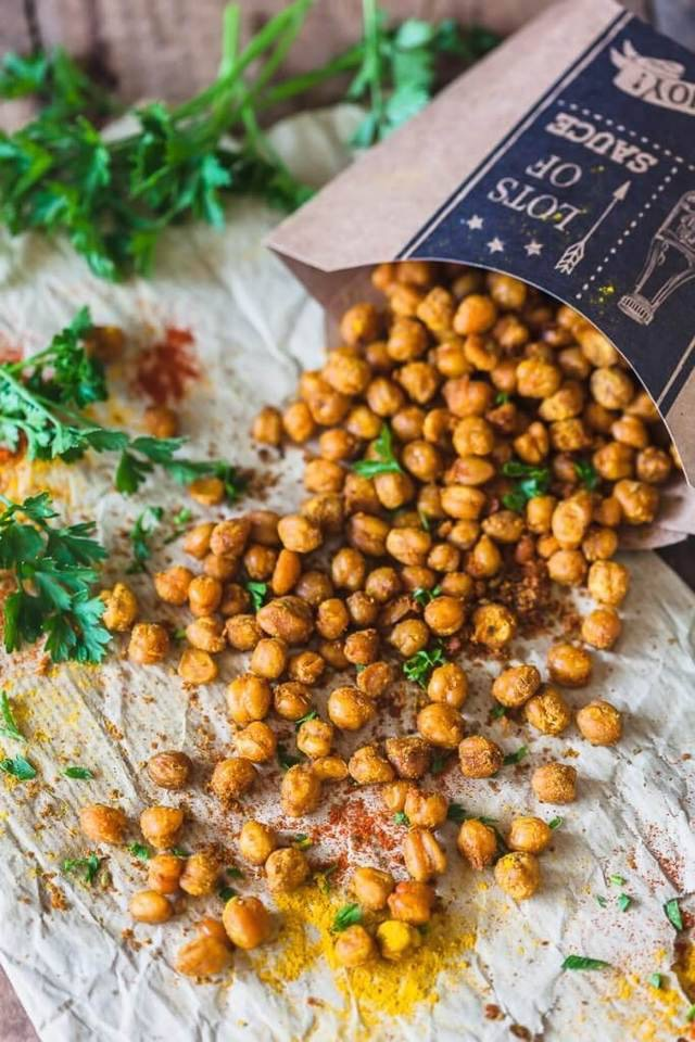 food and chickpeas image