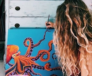 aesthetic, vsco aesthetic, and octopus image