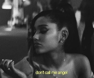 ariana grande, don't call me angel, and Lyrics image