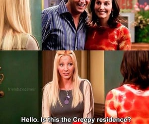 chandler, friends, and monica image