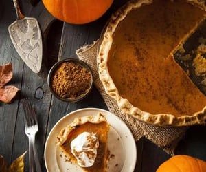 pie and pumpkin image