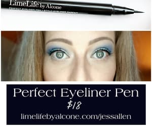 beauty, liner, and liquid liner image