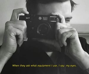 aesthetic, camera, and quotes image